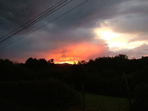 Sunrise on day one